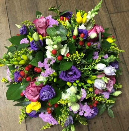 Pink, Purple and Yellow Posy