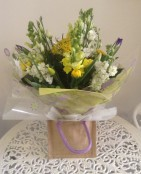 Spring Hand Tied Yellow and White